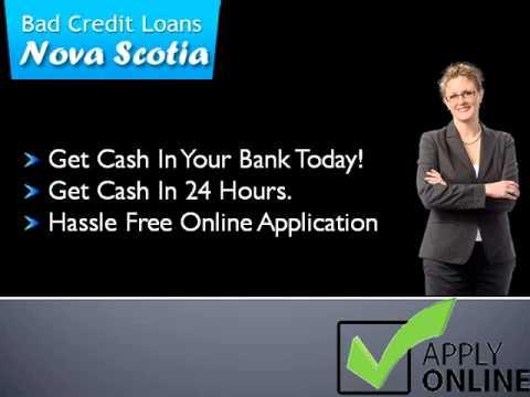 Bad Credit Loans Nova Scotia