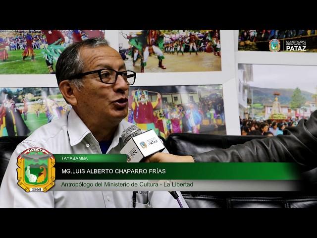 ENTREVISTA AL MG. LUIS CHAPARRO FRÍAS, DEL MINISTERIO DE CULTURA – LA LIBERTAD