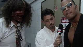 """Mankind asks Dwayne """"The Rock"""" Johnson to be his tag partner"""