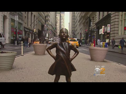 'Fearless Girl' Moving To New York Stock Exchange