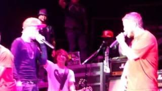 JUSTIN BIEBER JUMPS OFF STAGE SINGING BABY