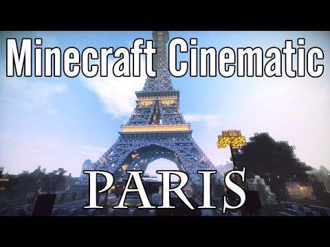 Minecraft Cinematic - Paris, Eiffel Tower