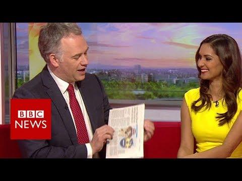 BBC Breakfast falls for April Fools joke - BBC News