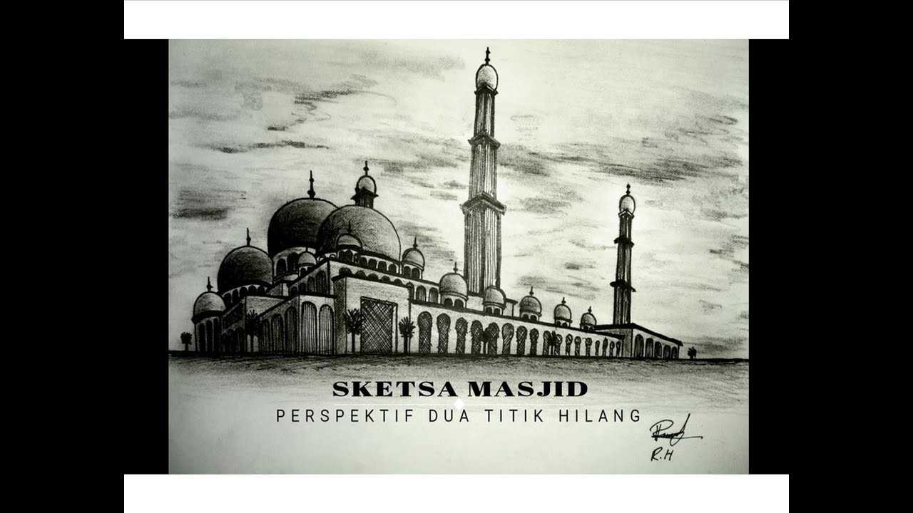 Masjid Sketsa Nusagates