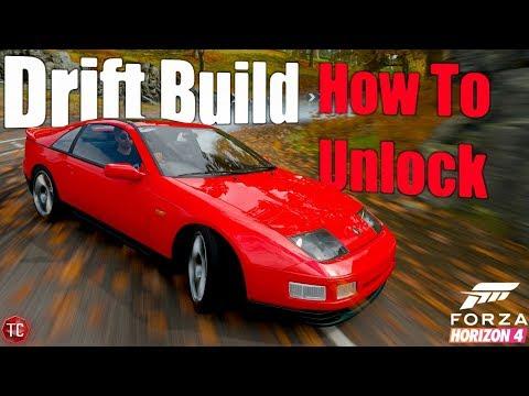 Forza Horizon 4: Nissan 300ZX Drift Build + How To Unlock! (Easy) thumbnail