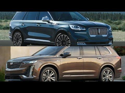 2020 Lincoln AVIATOR VS 2020 Cadillac XT6 LUXURY CROSSOVER COMPARISON