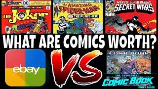 WHAT ARE COMICS WORTH ? EBAY VS OVERSTREET MONEY TALKS - VOL. 3