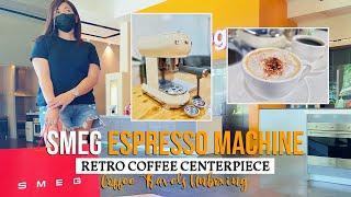SMEG Espresso Machine - A Styl…