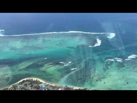 Underwater waterfall Mauritius HD 2016