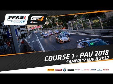 Grand Prix de Pau :Course 1 Championnats de France FFSA GT