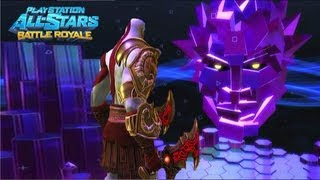 Playstation All Stars Battle Royale: Kratos Arcade Walkthrough…