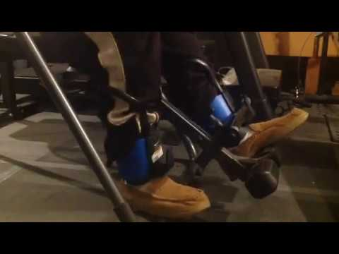 Big feet, gravity boots and inversion table