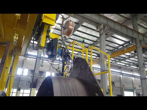 Elliptical tank welding solution from Esab