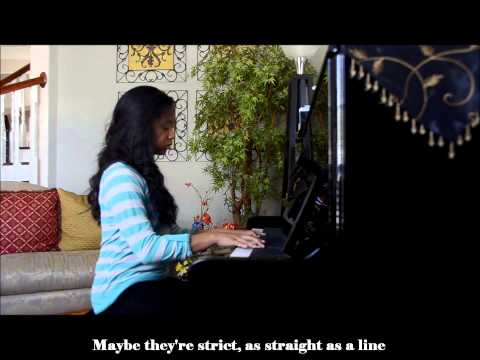 Maybe - Annie Soundtrack Piano Cover (With Lyrics)