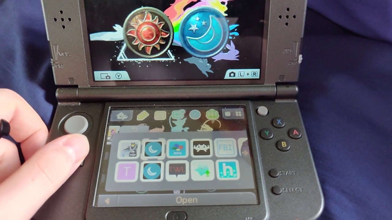 How to Run NDS/GBC games off of an SD card on 3DS/2DS