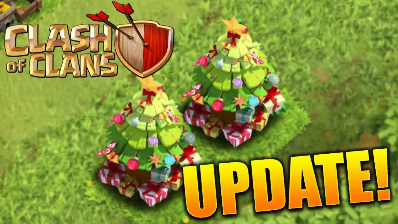 Clash Of Clans Update 2017 Xmas Update Is All Here Coc Christmas