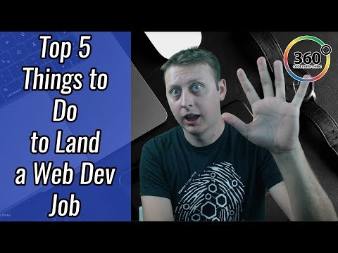 5 THINGS YOU MUST DO TO LAND A WEB DEVELOPMENT JOB | ASK A DEV
