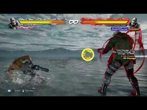 Tekken 7 Bryan Jet Upper Rage Drive Combo(No walls)