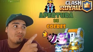 me and my luck at opening of chests! -Clash Royale [Fco Purralef]