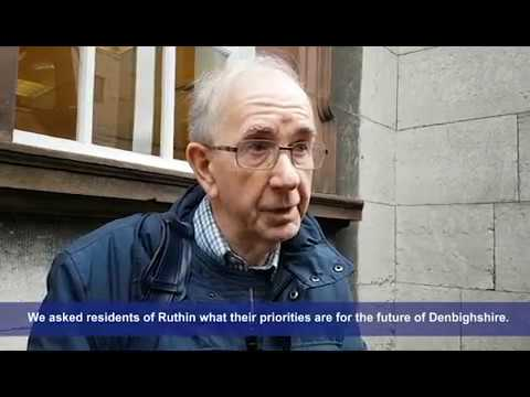 Ruthin residents have their say on County Conversation
