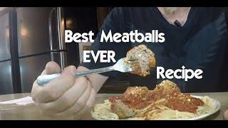Absolute Best Italian Meatball Recipe