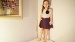 Как сшить юбку(Как сшить юбку для девочки. Сшить юбку не так сложно, как может показаться на первый взгляд. Для того, чтобы..., 2014-02-05T08:35:47.000Z)