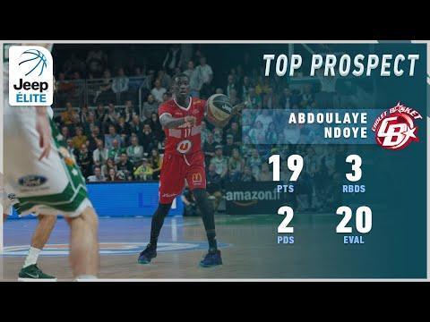 Abdoulaye Ndoye 19PTS vs Le Portel | Highlights Jeep® ÉLITE