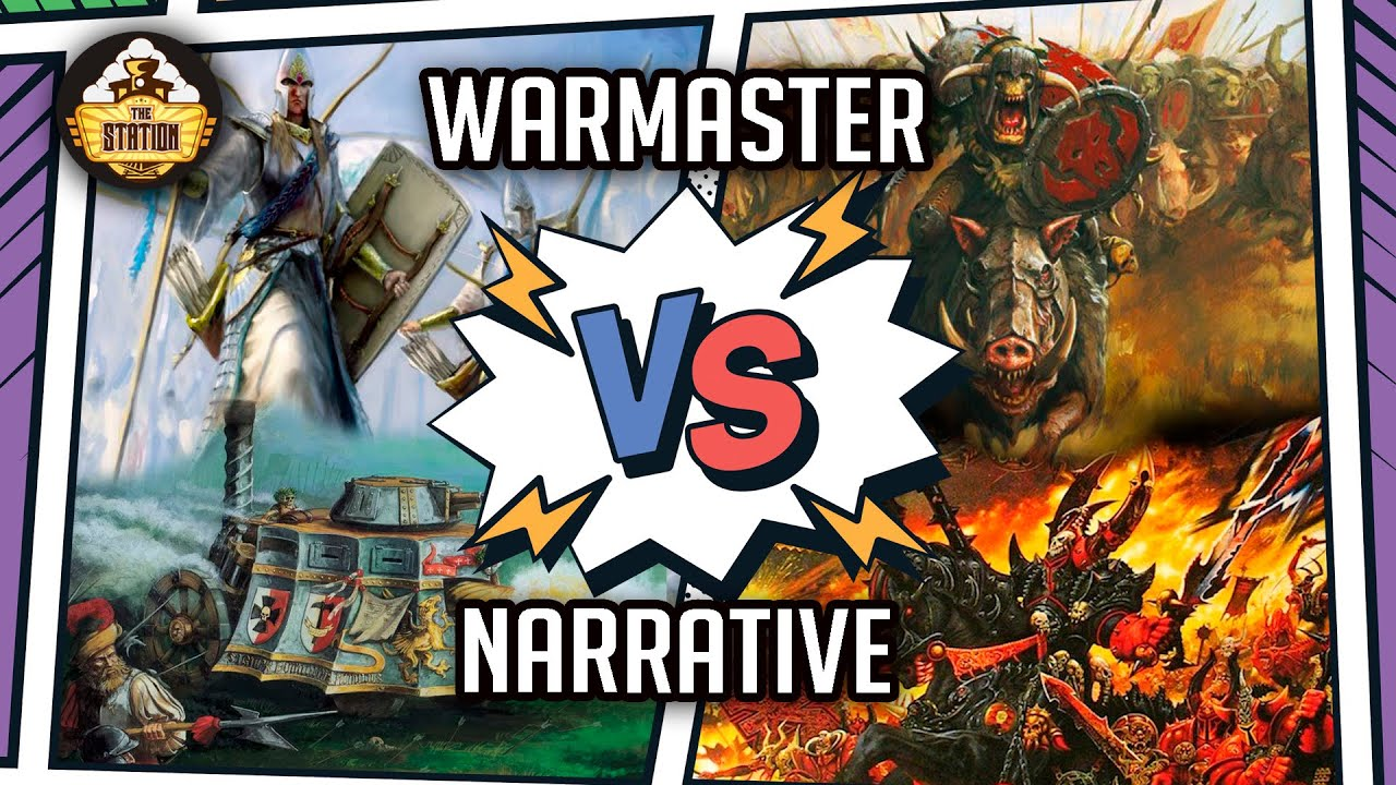 2 на 2! High Elves and Empire VS Orcs and Chaos   Репорт I Warmaster