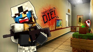 SOMETHING IS HERE...! - Minecraft Zombie Apocalypse #2 - Decimation Mod