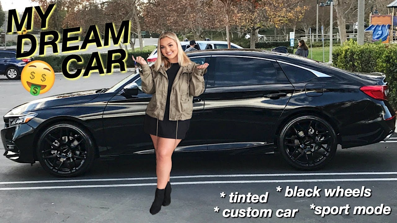 I BOUGHT MY DREAM CAR! BRAND NEW SPORTS CAR TOUR (BLACKED OUT)