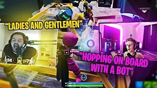 SYMFUHNY AND COURAGE CAST EACH OTHER?! (Fortnite: Battle Royale) #ad