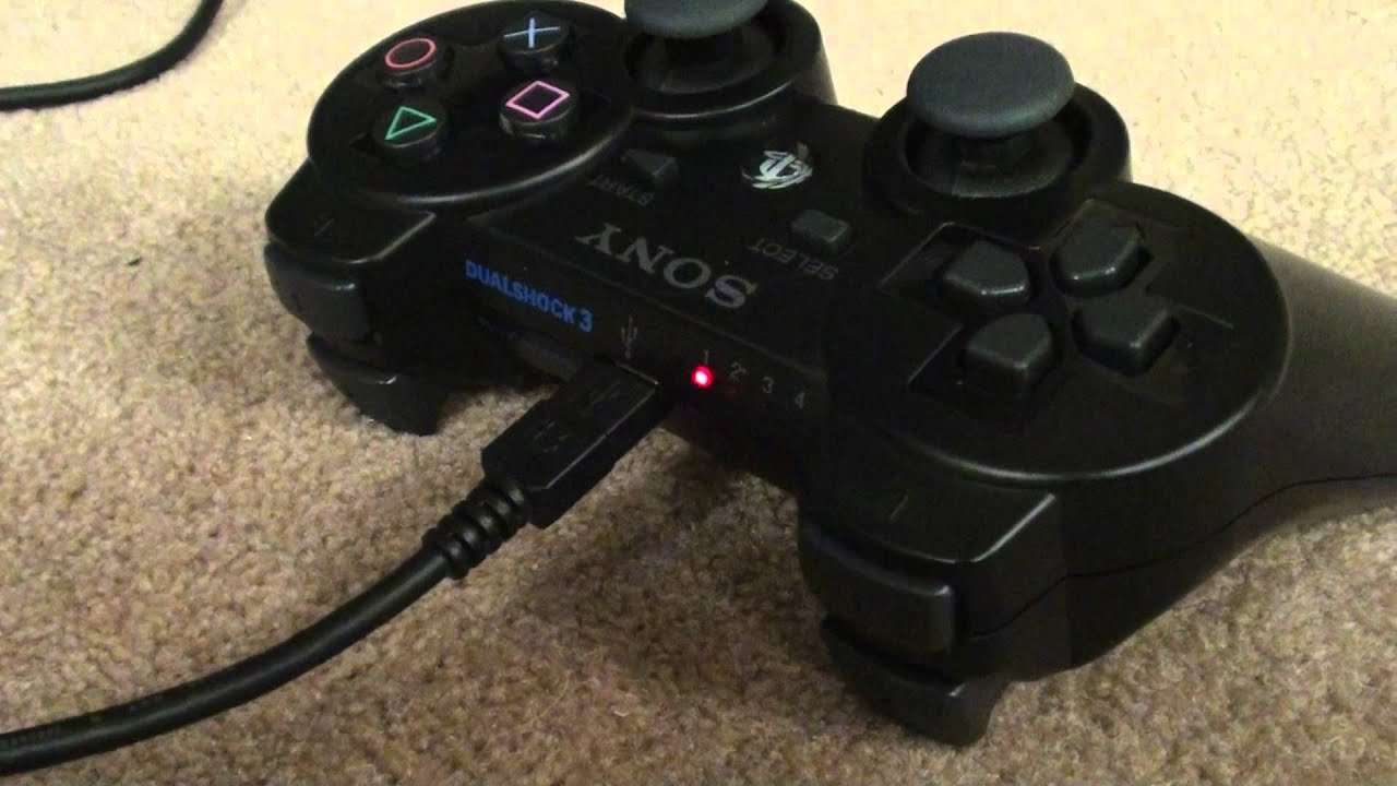 ps3 controller not charging try this [ 1280 x 720 Pixel ]