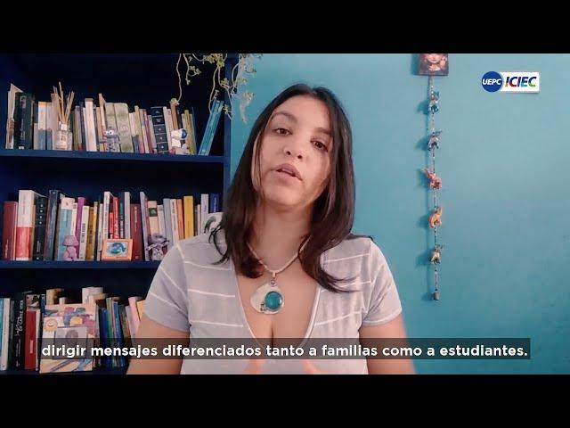 #EducarEnRed #3 ➡ El lugar de las familias | Flavia Píccolo