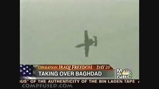 A-10 Warthog, The hand of god (Combat footage)
