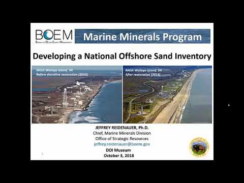 Developing a National Offshore Sand Inventory