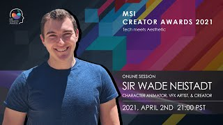 Creating a 3D Scene in 1 Hour with Sir Wade | MSI