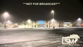 1-2-15 Lubbock, Texas Snow & Ice
