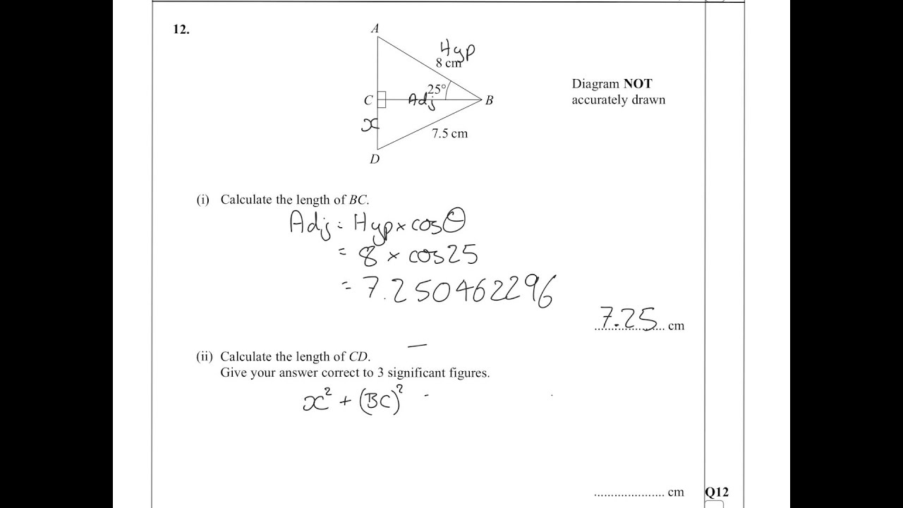 All Igcse Maths Papers