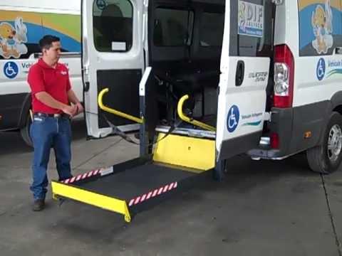 demostración escort para discapacitados