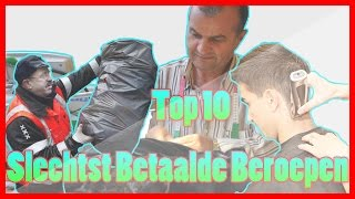 Top 10 Slechtst Betaalde Beroepen