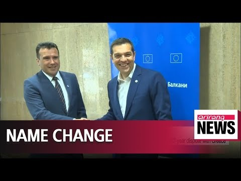 Macedonia changes name to Republic of North Macedonia, resolving 27-year dispute with Greece