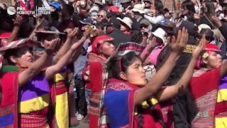 Ежегодный фестиваль Солнца  Инти Райми  в Перу