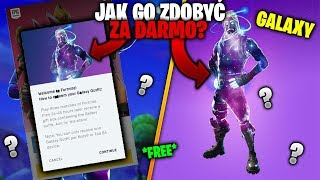 HOW I WON THE GALAXY SKIN IN FORTNITE! * Download Fortnite on your phone with the description! *