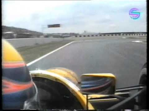 F1 1991 - Roberto Moreno onboard Magny Cours