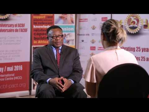 Prof Emmanuel Nnadozie at the 3rd Pan African Capacity Development Forum