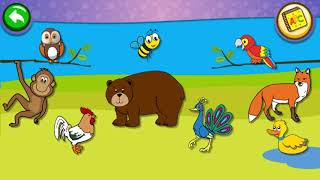 Old McDonald Music Song and Animal Sounds - Piano Kids Music Songs