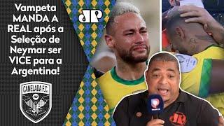 """""""O Neymar CHOROU igual CRIANÇA! E TODO MUNDO sabe que..."""" Vampeta MANDA A REAL após VICE da Seleção!"""