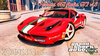 GTA 5 Ferrari 458 Italia GT2 v1.3