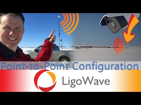 Setup LigoDLB 5-20ac Radios In A Point-to-Point Network For Security Cameras