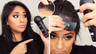 Do TOPPIK HAIR FIBERS Work on Dark Hair?? (in BLACK)